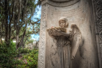 One of the gravesites you'll see on our Bonaventure Cemetery Tours