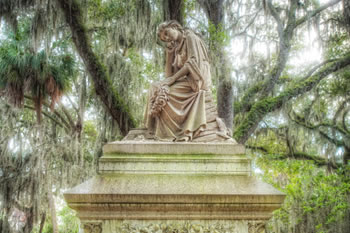 Bonaventure Cemetery, in Savannah Georgia