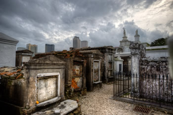 One of the tombs you'll see on our New Orleans Cemetery Tours