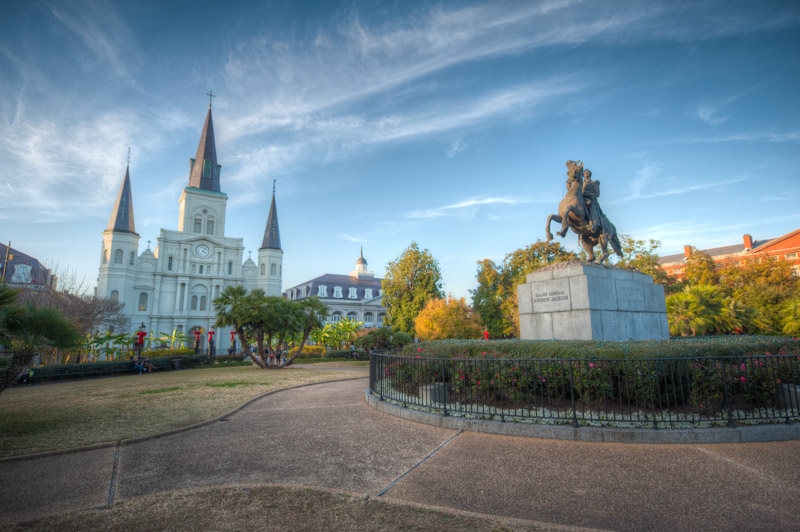 Jackson Square, site of our French Quarter History Tour