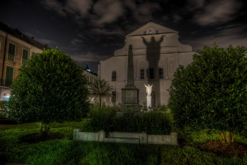 The Haunted Cathedral, featured on the Ghosts of New Orleans Tour