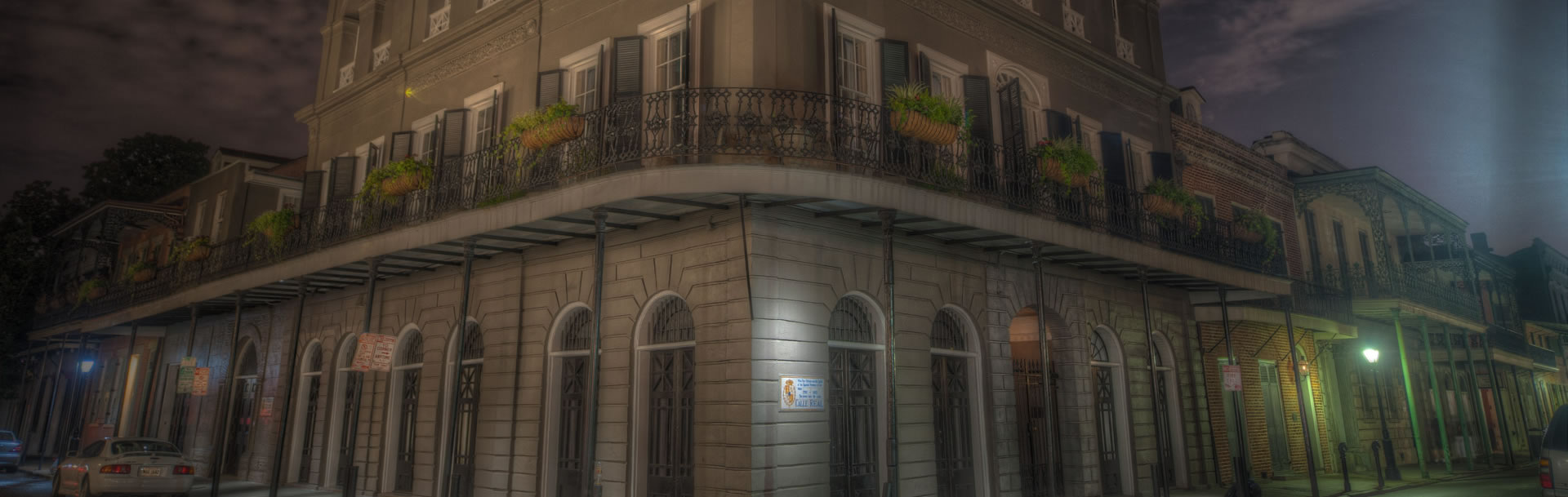 The haunted LaLaurie Mansion