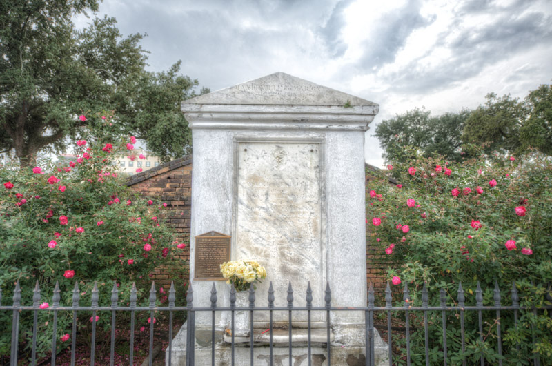 A Tomb in St. Louis Cemetery 1