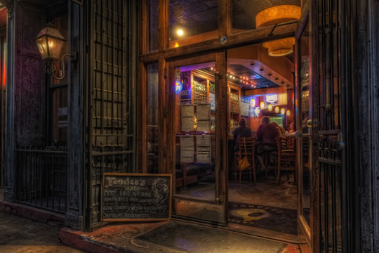 A haunted bar in Savannah