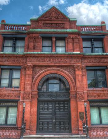 Historic Architecture in Savannah