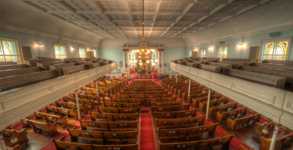 One of Savannah's most historically significant churches, the First African Baptist Church