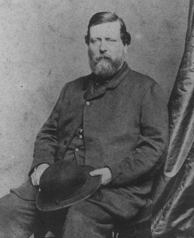 A portrait of Andrew Low, taken around 1860