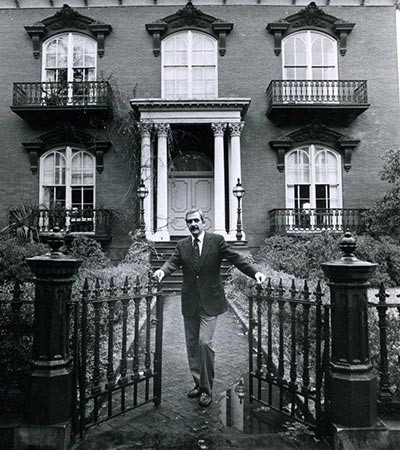 Jim Williams, former owner of the Mercer Williams House